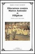 Portada del libro Discursos contra Marco Antonio o Filipicas