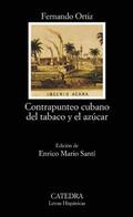 Portada del libro Contrapunteo cubano del tabaco y el azucar