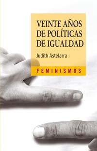 Portada del libro Veinte años de politicas de igualdad