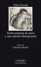 Portada del libro Veinte poemas de amor y una cancion desesperada