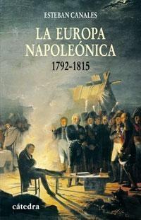 Portada del libro La Europa napoleonica 1792-1815