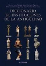 Portada del libro Diccionario de instituciones de la Antiguedad