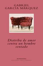 Portada del libro Diatriba de amor contra en hombre sentado