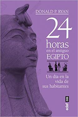 Portada del libro 24 horas en el antiguo Egipto