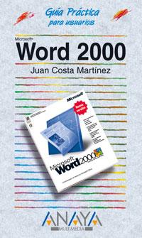 Portada del libro Word 2000