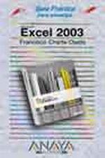 Portada del libro Excel 2003