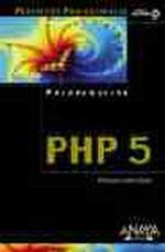 Portada del libro PHP 5 PROYECTOS PROFESIONALES