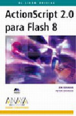 Portada del libro ActionScript 2.0 para Flash 8
