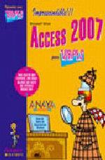 Portada del libro Access 2007 INFORMaTICA PARA TORPES