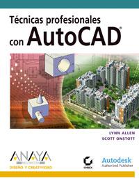 Portada del libro Tecnicas profesionales con AutoCAD