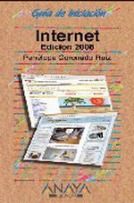 Portada del libro Internet. Edicion 2008 GUiAS DE INICIACIoN
