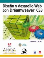 Portada del libro Diseño y desarrollo Web con Dreamweaver CS3
