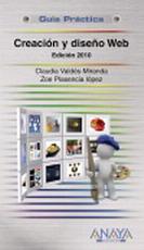 Portada del libro Creacion y diseño Web. Edicion 2010