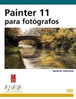 Portada del libro Painter 11 para fotografos