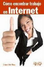 Portada del libro Como encontrar trabajo en Internet