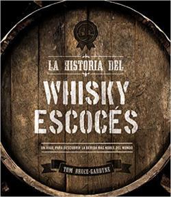 Portada del libro La historia del whisky escocés