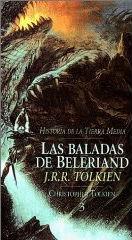 Portada del libro Las Baladas de Beleriand. Historia de la Tierra Media, III