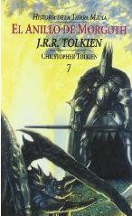 Portada del libro El anillo de Morgoth. Historia de la Tierra Media, VII