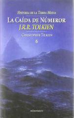 Portada del libro La caída de Númenor. Historia de la Tierra Media, VI