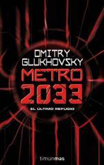 Portada del libro Metro 2033