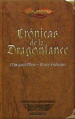Portada del libro Crónicas de la dragonlance