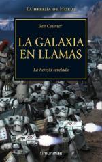 Portada del libro La galaxia en llamas. Warhammer 40000 Herejia De Horus 03