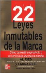 Portada del libro Las 22 leyes inmutables de la marca