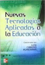 Portada del libro Nuevas tecnologías aplicadas a la educación