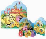Portada del libro LA FAMILIA DE BARBAPAPA