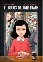 Portada del libro El diario de Anne Frank (novela gráfica)