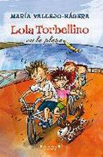 Portada del libro Lola Torbellino en la playa