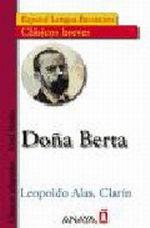 Portada del libro Doña Berta