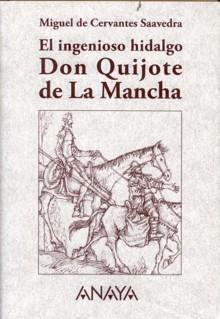 Portada del libro El ingenioso hidalgo Don Quijote de La Mancha