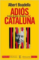 Portada del libro Adiós Cataluña
