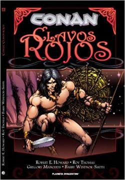 Portada del libro Conan: Clavos rojos