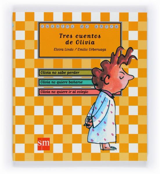 Portada del libro Tres cuentos de Olivia