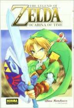 Portada del libro Ocarina of time. The legend of Zelda 2