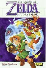 Portada del libro Majora's Mask. The legend of Zelda 3