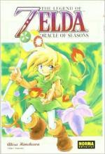 Portada del libro Oracle of seasons. The legend of Zelda 6