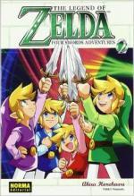 Portada del libro Four swords adventures. The legend of Zelda 9