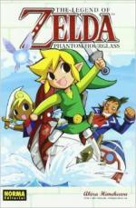 Portada del libro Phanton hourglass. The legend of Zelda 10