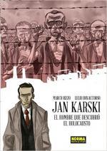 Portada del libro Jan Karski. El hombre que descubrió el holocausto