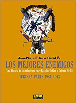 Portada del libro Los mejores enemigos tercera parte: 1984-2013