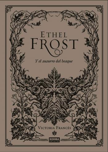 Portada del libro Ethel Frost y el susurro del bosque