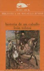 Portada del libro Historia de un caballo