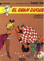 Portada del libro El Gran Duque. Lucky Luke