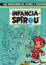 Portada del libro La infancia de Spirou