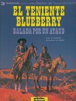 Portada del libro El teniente Blueberry: Balada por un ataud