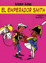 Portada del libro El emperador Smith. Lucky Luke