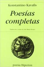 Portada del libro  Poesías completas